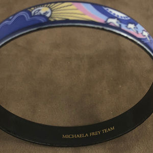 MICHAELA FREY  WILLE Accessories - Vintage MICHAELA FREY  WILLE TEAM  Enamel Bangle